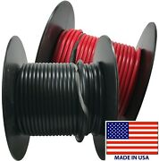 2 10 Gauge Wire 100 Ft Red And Black Primary Awg Automotive Stranded Copper Usa