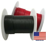 2 20 Gauge Wire 100 Ft Red And Black Primary Awg Automotive Stranded Copper Usa