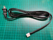 Cable Secteur 110v Alimentation Nanao Ms9-29 Monitor Chassis Crt Power Cord 1,5m