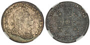 Great Britain. George I. 1718 Ar Shilling. Ngc Ms63 Scbc-3645