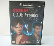 Resident Evil Code Veronica X Gamecube Out Of Stock