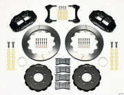 Wilwood 140-11978 Narrow Superlite 6r Front Hat Kit 12.88in 2006-up Civic / Crz