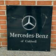 Vintage Mercedes Benz Of Cadwell Dealership West Cadwell New Jersey Nj Sign