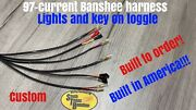 Stb 97-current Yamaha Banshee Wiring Harness Lights And Key On Toggle Switch