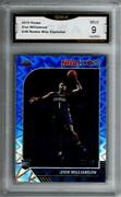 2019-20 Hoops Blue Explosion 258 Zion Williamson Rc Rookie 5/49 Gma 9 Mint