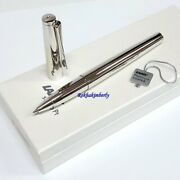 Lamy 369pt Studio Shiny Platinum Gold Roller Ball Pen Germany With Gift Box