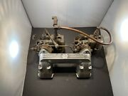 Mg Td Horne Sports Dual Carburetor Manifold With Glass Bowl Holleys