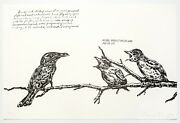 Raymond Pettibon Untitled Mother Never Let... 2000. Signed Numbered Print