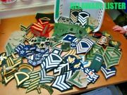 Nice Mixed Lot Usaf Us Military Army Vietnam Wwii Shirt/jacket Shoulder Patches