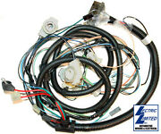 81 Corvette Harness New Front Lamp With Analog Radio And Clock Gauge 29354