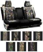 Coverking Mossy Oak Custom Seat Covers For Toyota Prius Awd-e
