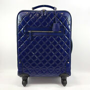 Carry Bag Airline Matelasse Patent Leather Women