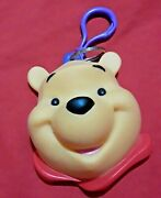 Disney Winnie The Pooh Coin Purse Treasure Keeper Clip On 4 Kids Collection Nwot