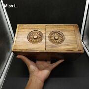 26 Cm Elm Wood Magic Box Puzzle Special Mechanism Game Toy Brain Teaser Chinese