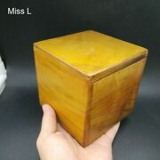 Phoebe Zhennan Wooden Puzzle Box Solid Wood Toy Simple Game