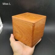 Red Mahogany Wooden Secret Box Puzzle Box Simple Game