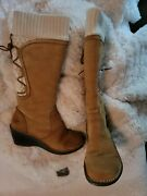 Womens Uggs Boots Size 6 Skylair 1939 W/ Che