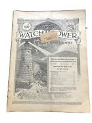 1926 Watchtower Magazine Jehovah Bible Students Ibsa March 15th Issue