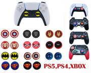 Thumb Stick Grip Cap Joystick Cover Case For Sony Ps3 Ps4 Ps5 Slim Xbox One X2