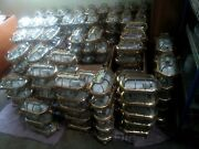 New Authentic Nautical Brass Oval Ship Passageway Wall Stateroom Light 10 Piece