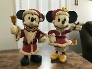 Santa Mickey And Minnie Mouse Poliwoggs By David Critchfield And Vic Fortunato 9