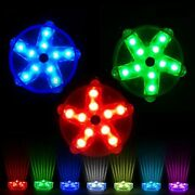 Blufree 3.3 Led Floating Pool Lights For Bathtub Fountain Hot Tub, Ip68 Color