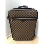 Auth Louis Vuitton Damier Pegase 55 Travel Carry Bag N23294 Suitcase Used