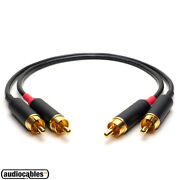 Mogami 2803 Switchcraft Rca Stereo Pair Hi End Audiophile Interconnect Cables
