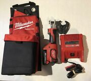 Milwaukee Tool Utility Crimper Force Logic 6ton 3d Grooves And Fixed O Die 2.0