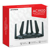 Jetstream Ac1900 Dual Band Wifi Gaming Router 801.11a/b/g/n/ac New