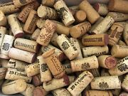 Reduced Lot Of 100 Variety Used Genuine Wine Corks For Recycle, Crafts, Wedding
