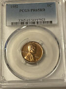Pr65rd 1952 Red Wheat Lincoln Penny Pcgs Graded 1c Proof Coin Rare Uncirculated