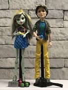 Monster High By Mattel - Picnic Casket Frankie Stein And Jackson Jekyll Doll Set