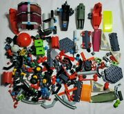 Mixed Large Lot Of Vintage 80and039s Fisher Price Construx Toys 3 1/2 Pounds
