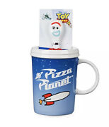Pizza Planet Mug And Forky Spoon Set Andndash Toy Story 4
