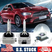 Hid Headlight Bulbs For Mercedes-benz Cla250 2014-2016 High And Low Beam Qty 2