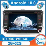 7and039and039 Autoradio Stereo Pour Vw Golf 5 6 Polo T5 Seat Skoda Eos Jetta Android 10 4g