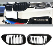 Front Bumper Grille Grill For Bmw 5 Series G30 G31 G38 17-18 530i 540