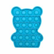 1pc Push Bubble Sensory Toy Fidget Stress Reliever Toys Adult Kid Funny Dimpl To