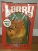 Vintage Nos Larry The Lion Animal Yacker Mattel 1960s Pull String Toy New In Box