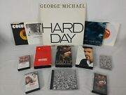 Lot Of 13 - George Michael Wham - Records Cassettes Vhs And Cd - Faith Fantastic