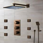 Bath Select Oil Rubbed Bronze Sierra Water Powered Led Shower System - B-0522orb