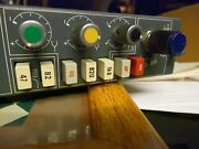 One Vintage Rare Kelso Neve 34128 Mixing Desk Channel With Eq. Small Metal Knobs