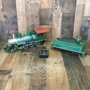 Bachmann Big Hauler 7 Locomotive G Scale And Tender For Parts/ Repair