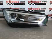 2018-2020 Audi Q5 Right Headlight Xenon Hid With Ballast Oem Damaged For Parts