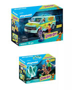 Playmobil Scooby-doo Mystery Machine Set 70286 And 70287 Bundle New