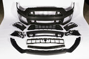 Roush 421843 2015-2017 Ford Mustang Complete Unpainted Front Fascia Kit W/o Col