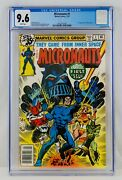 Micronauts 1 Cgc 9.6 White Pages First Baron Karza Appearance 1st App Key Grail