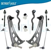 Front Lower Control Arms W/bushings Tierods Sway Bars For Bmw 323ci 325i Z4