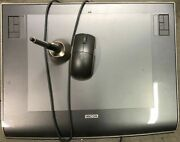 Wacom Intuos3 9x12 Ptz-930 Graphics Usb Tablet W/ Mouse Grip Pen Stand Cd Adobe